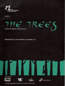 1997, The Trees: Programme Cover