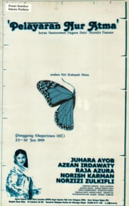 1999, Pelayaran Nur Atma: Programme Cover