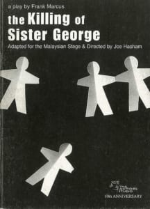 1999, The Killing Of Sister George: Programme Cover