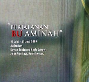 1999, Perjalanan Bu Aminah: Programme Cover