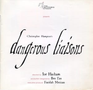 2001 Dangerous Liaisons cover 2