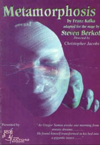 2002, Metamorphosis: Programme Cover