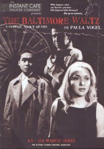 2002, The Baltimore Waltz: Programme Cover