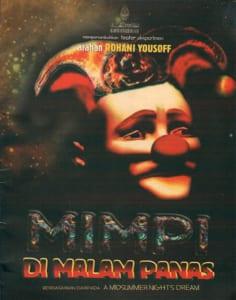 2002, Mimpi Di Malam Panas: Programme Cover