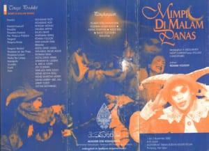 2002, Mimpi Di Malam Panas Tour: Programme Outer Sheets