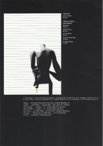 2003 *A Play With No Title Flyer