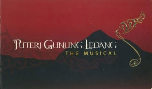 2006, Puteri Gunung Ledang The Musical: Programme Cover