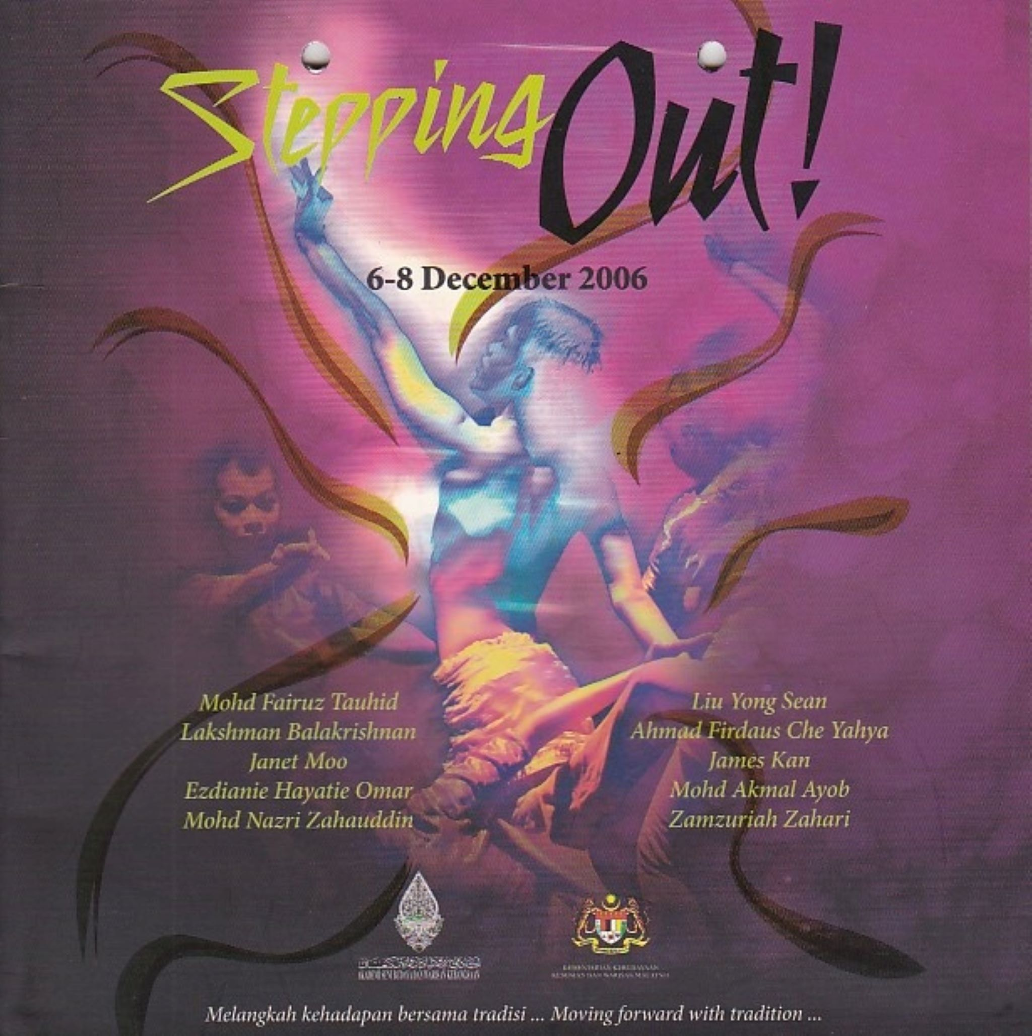 2006 Stepping Out Cover
