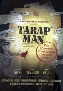 2007, Tarap Man: Programme Cover