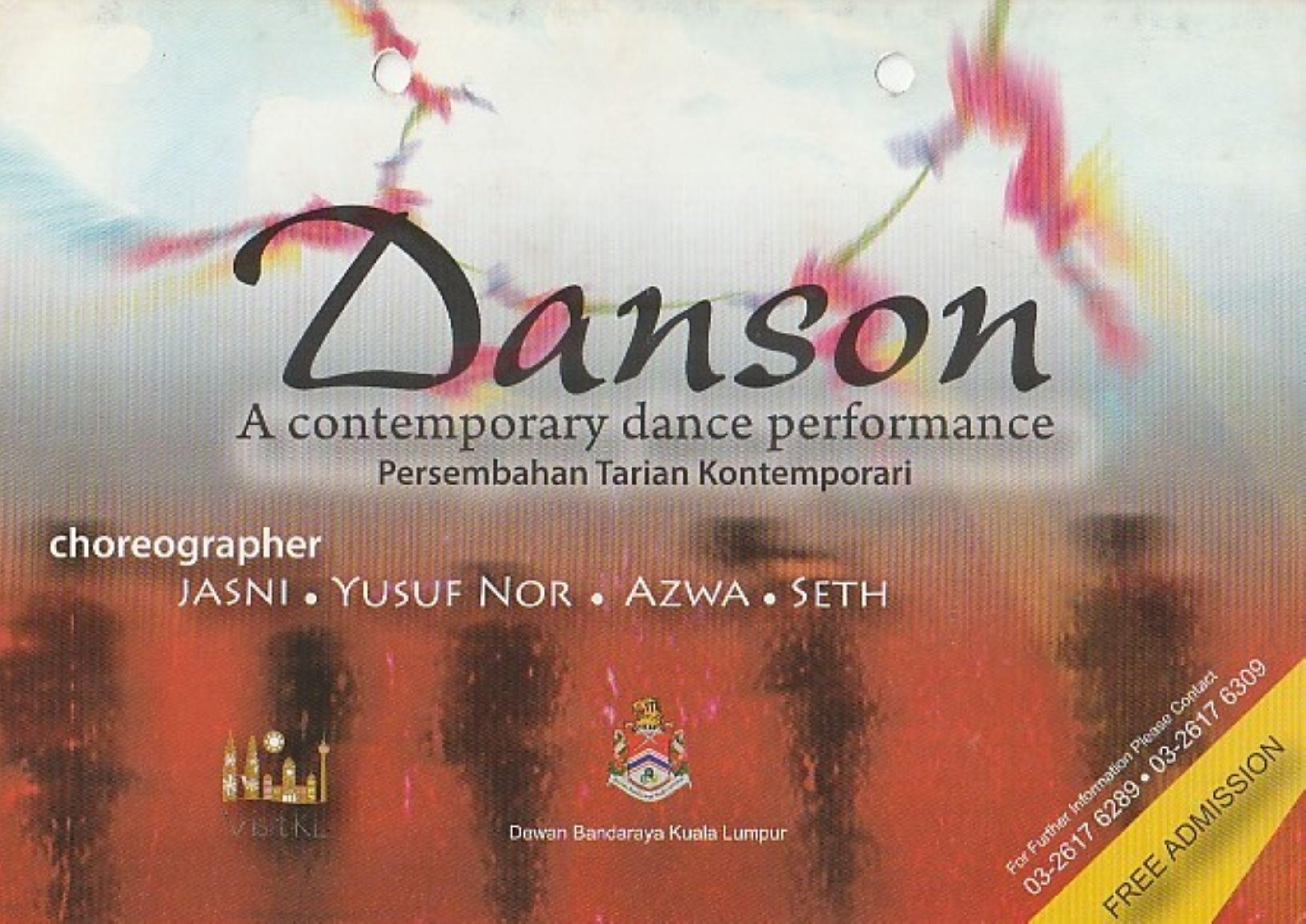 2008 Danson Cover