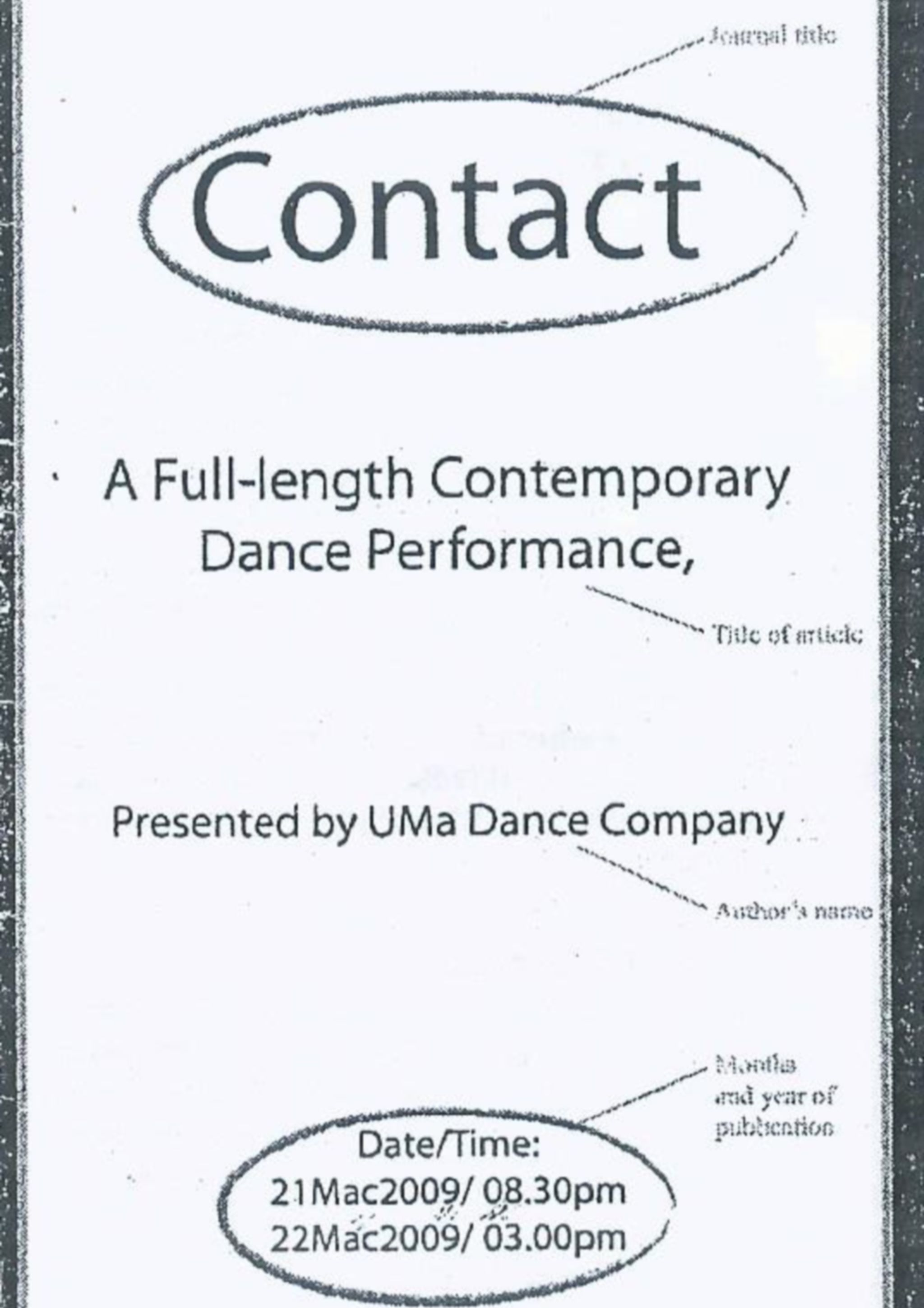 2009 - Contact - cover cropped