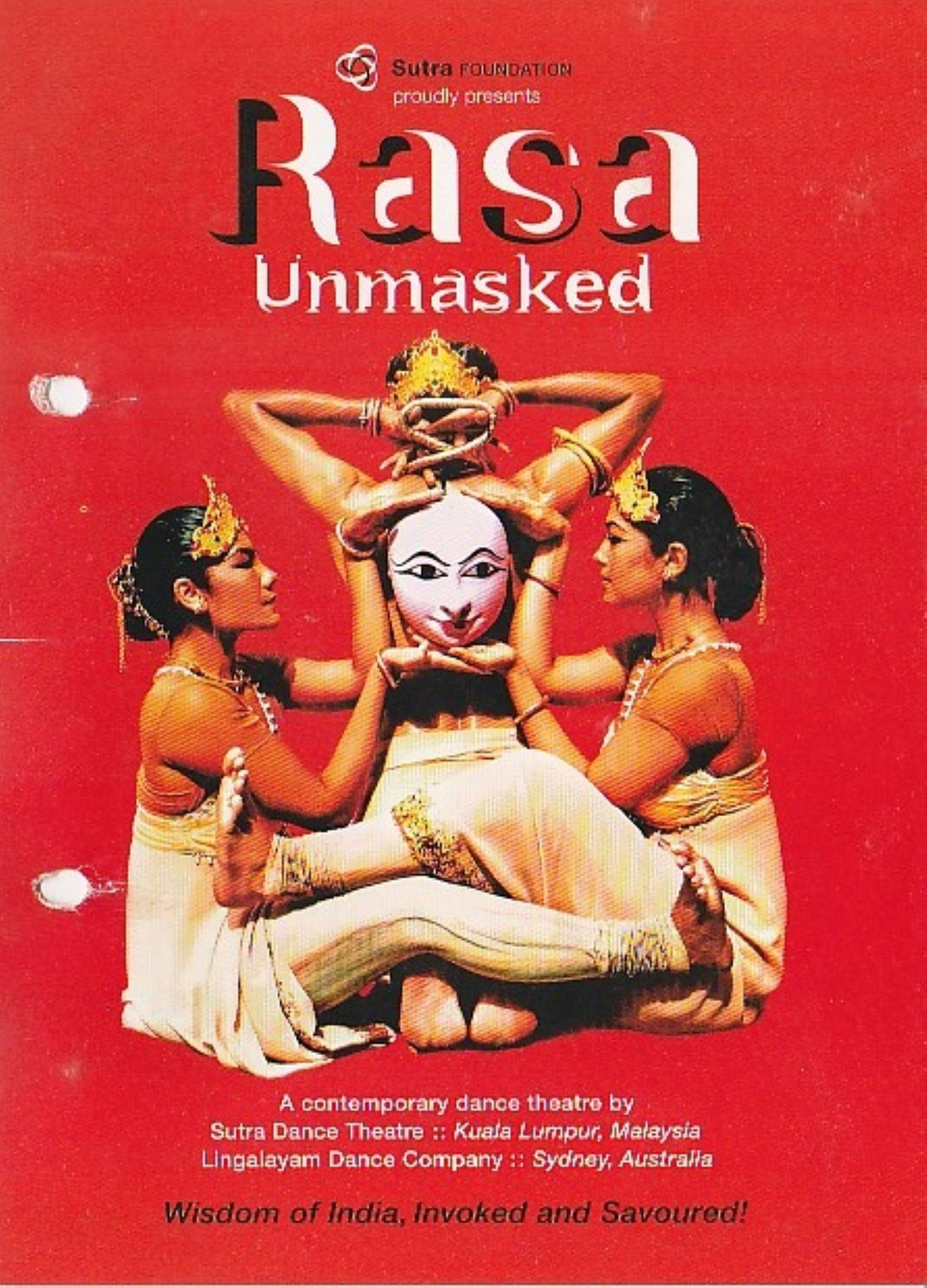 2009 Rasa Unmasked Cover
