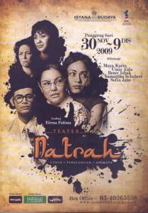 2009, Natrah: Programme Cover