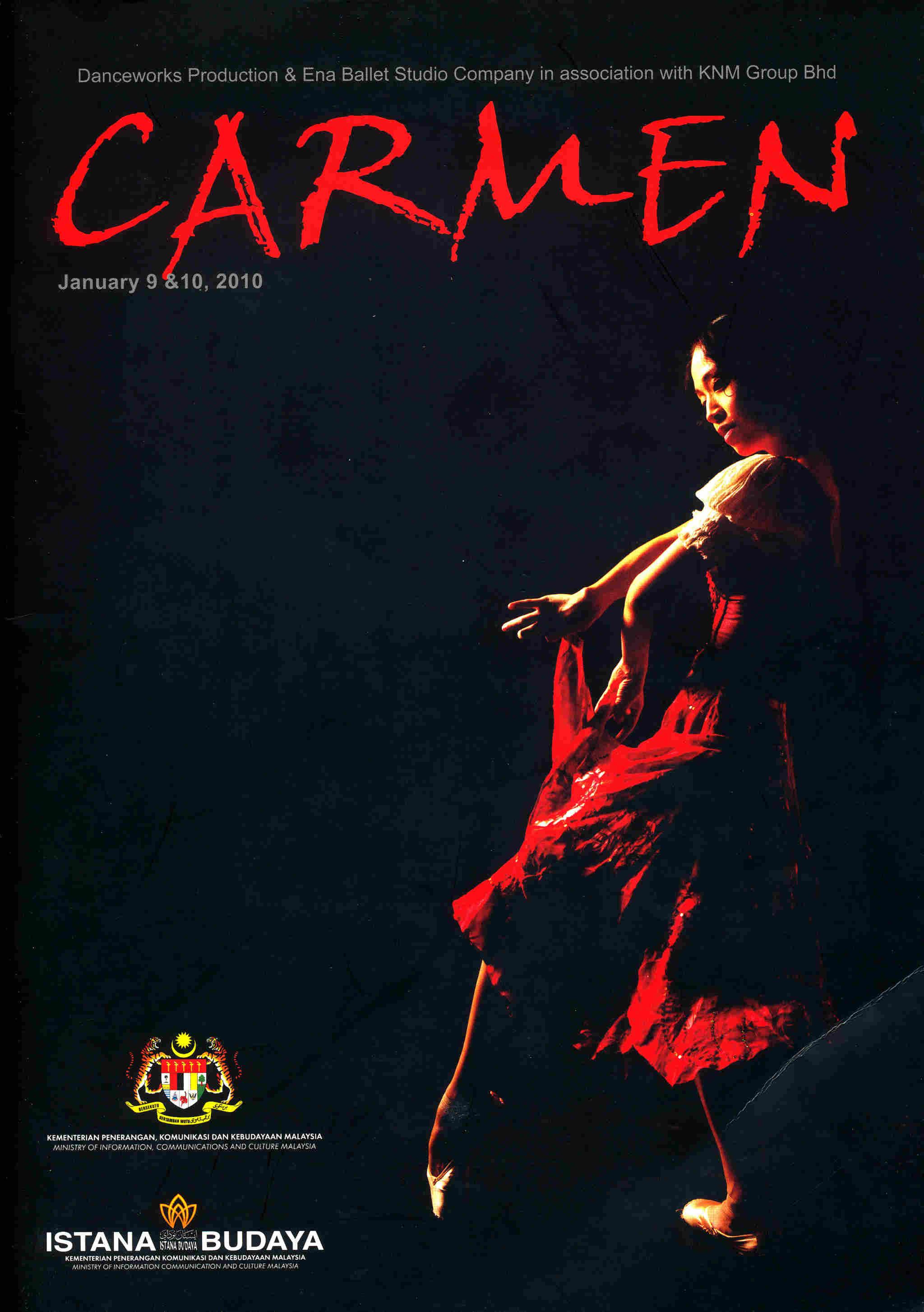2010 Carmen Cover