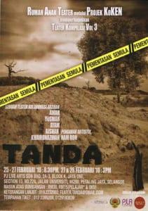 2010 Tanda Programme Cover