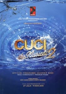 2010 Cuci the Musical 2 cover