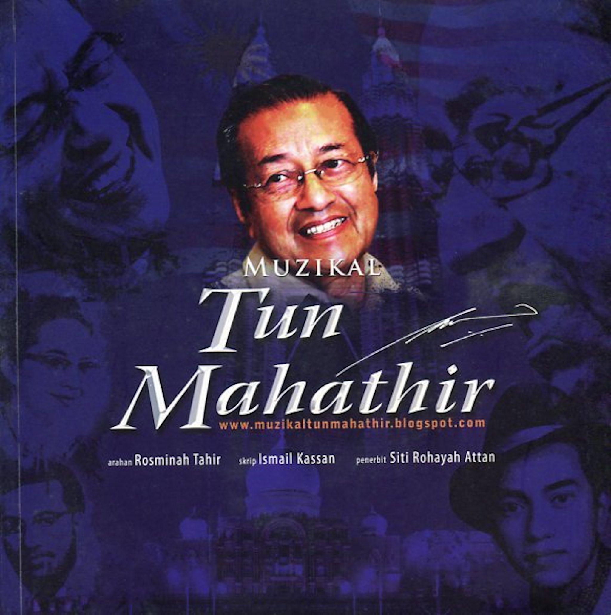 2010 Muzikal Tun Mahathir cover 1