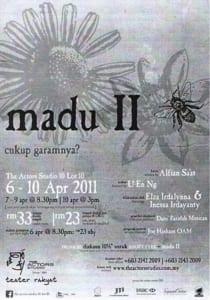 2011 Madu II Programme Cover