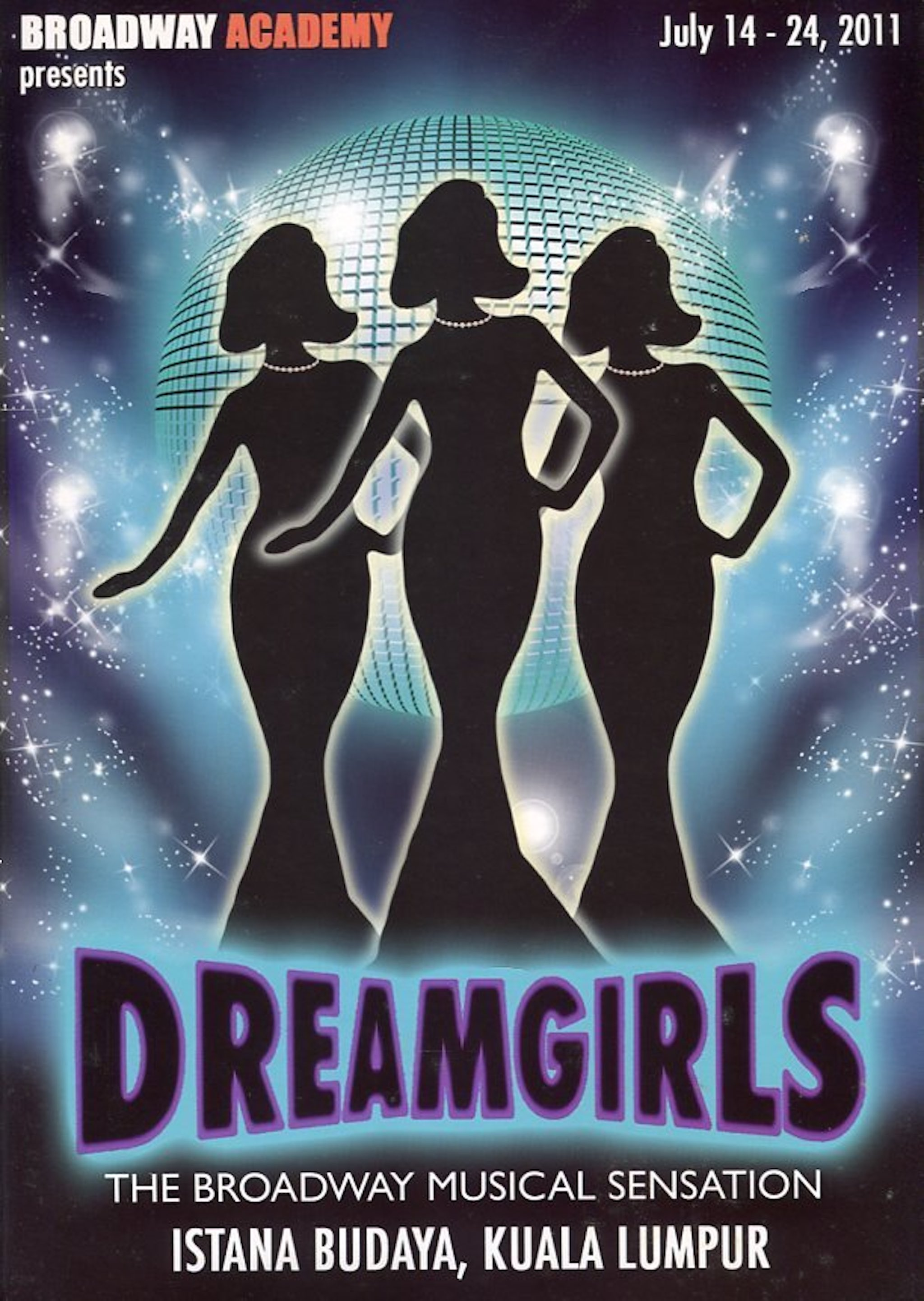 2011 Dreamgirls cover 1