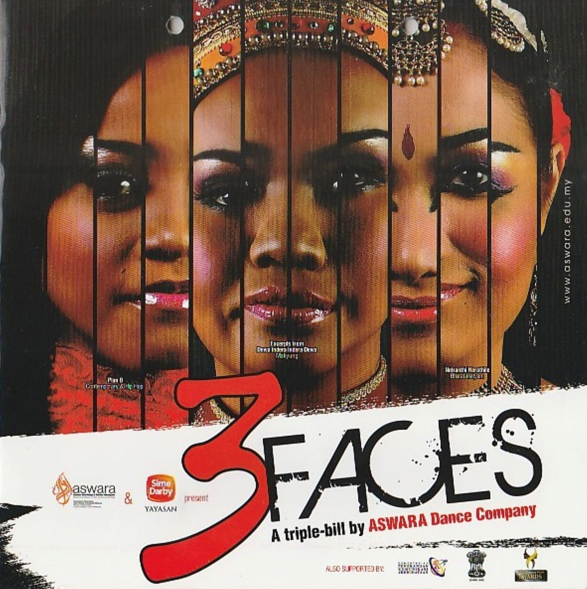 2012 3 Faces Cover