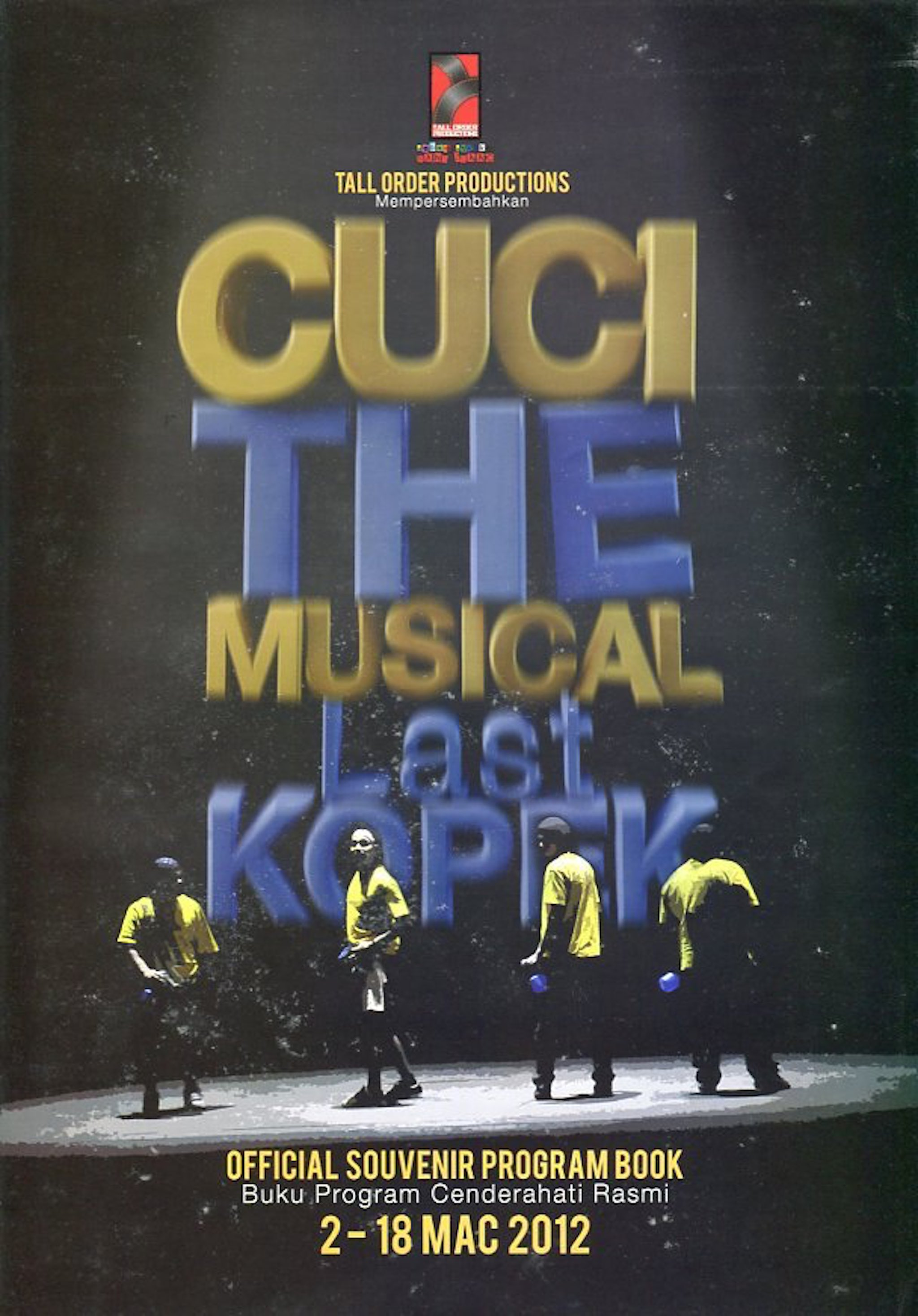2012 Cuci the Musical Last Kopek cover