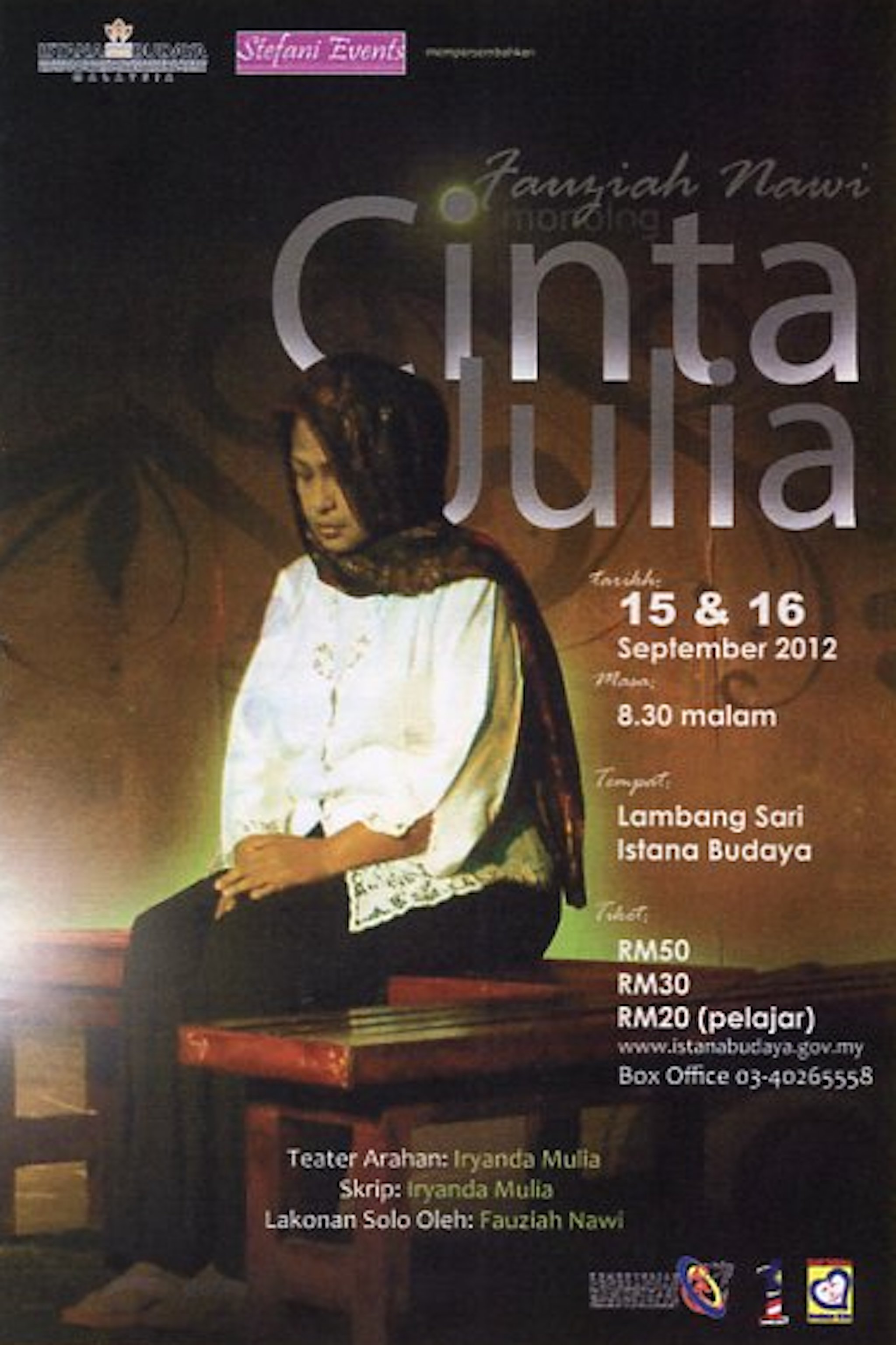 2012 Monolog Cinta Julia cover