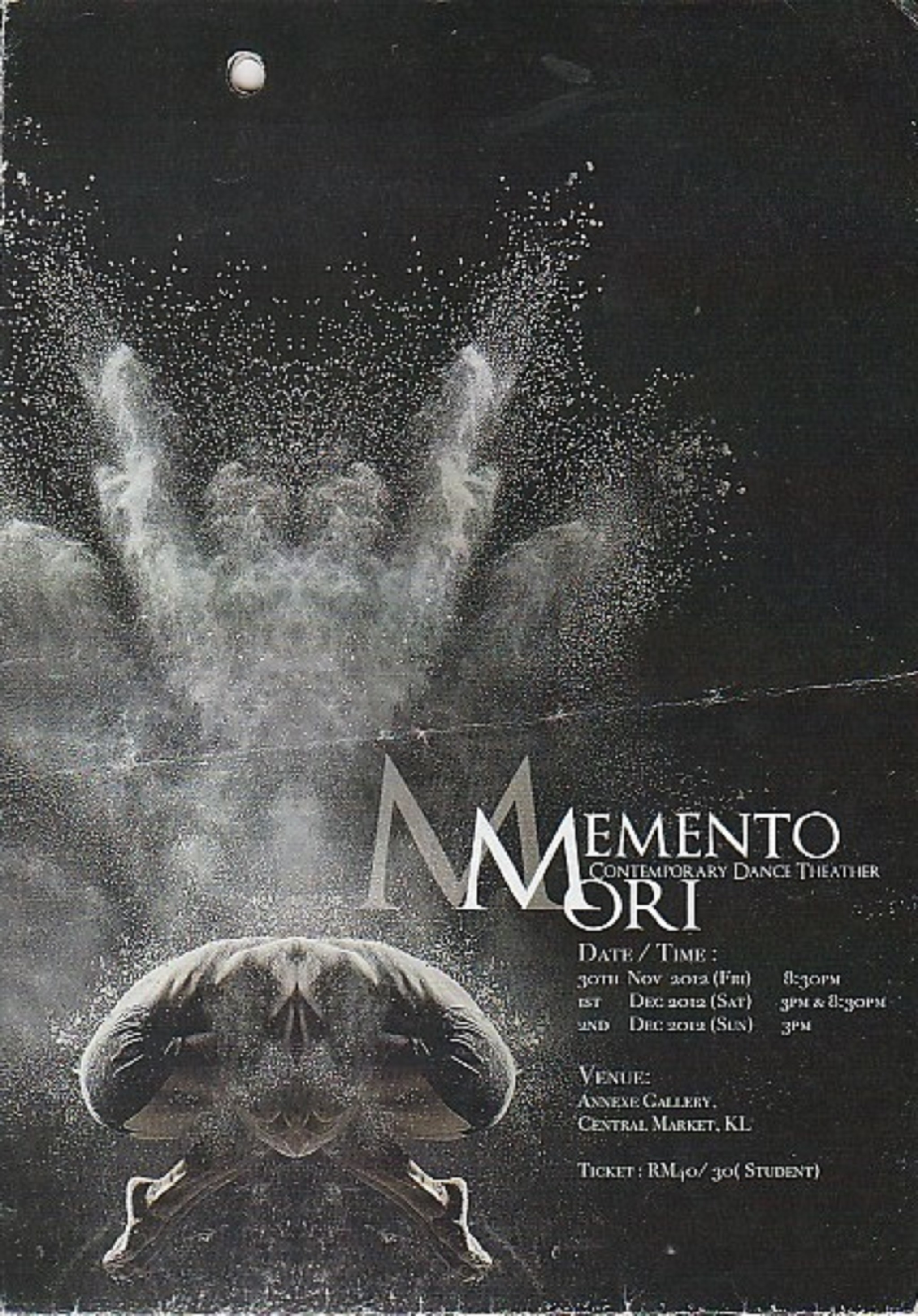 2012 Memento Ori Contemporary Dance Theater Cover