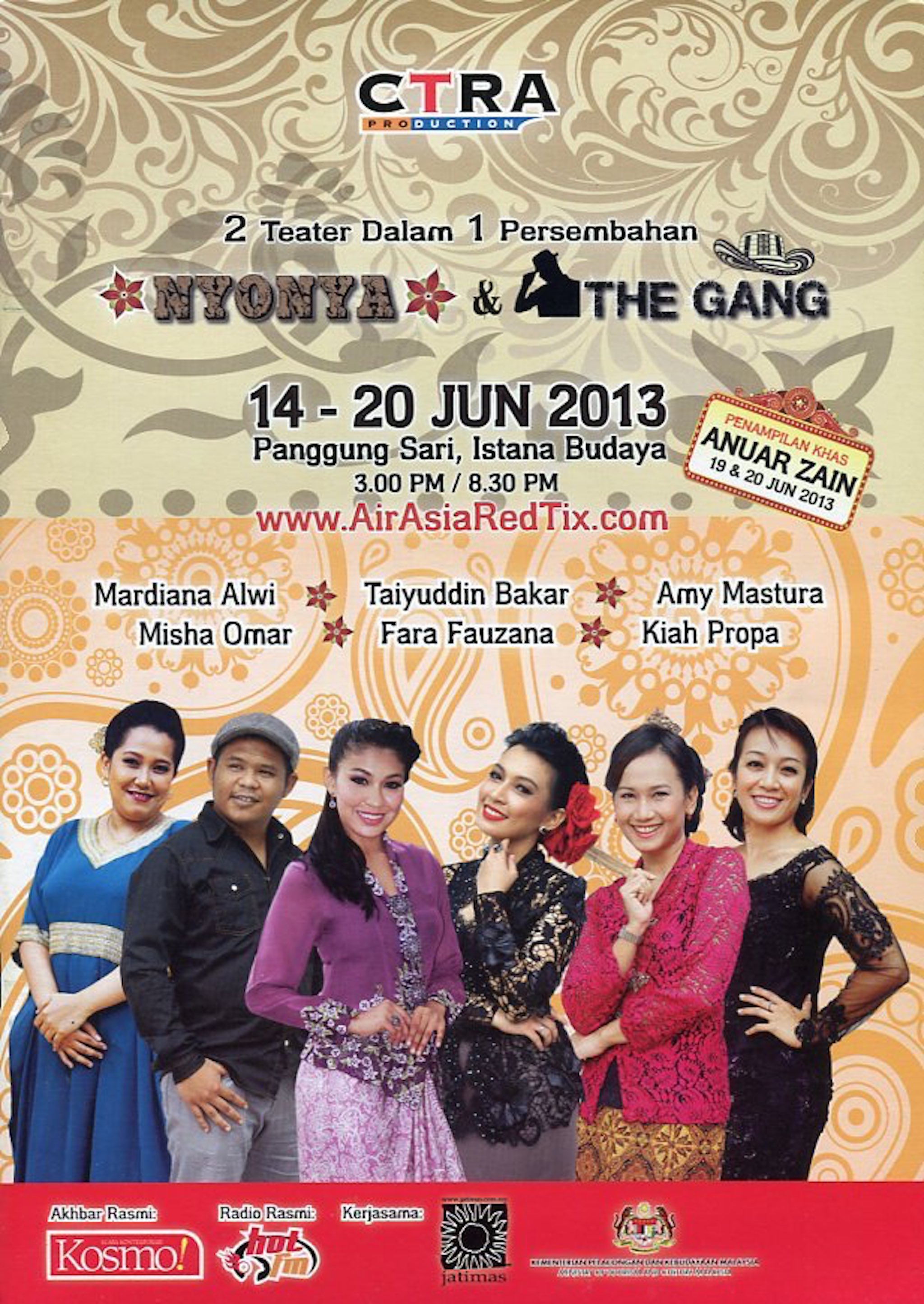 2013 Nyonya & The Gang cover