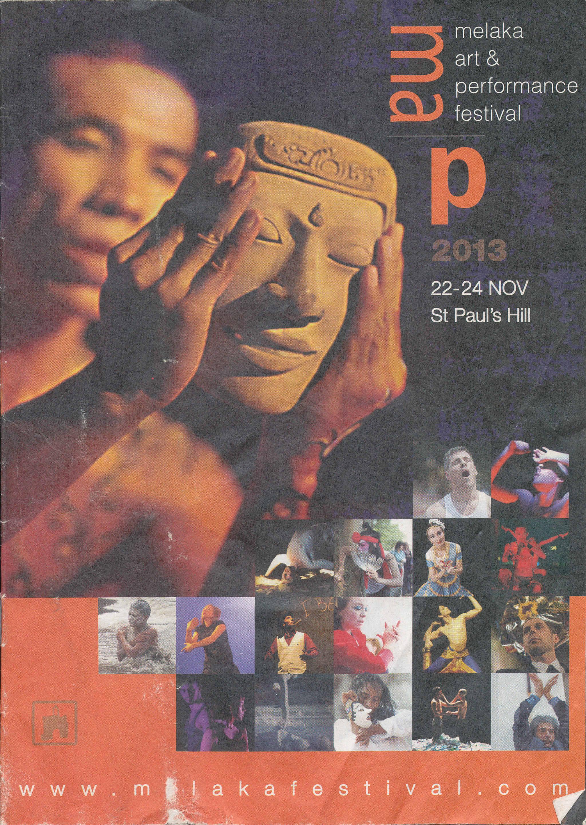 2013 Melaka Art & Performance Festival Cover