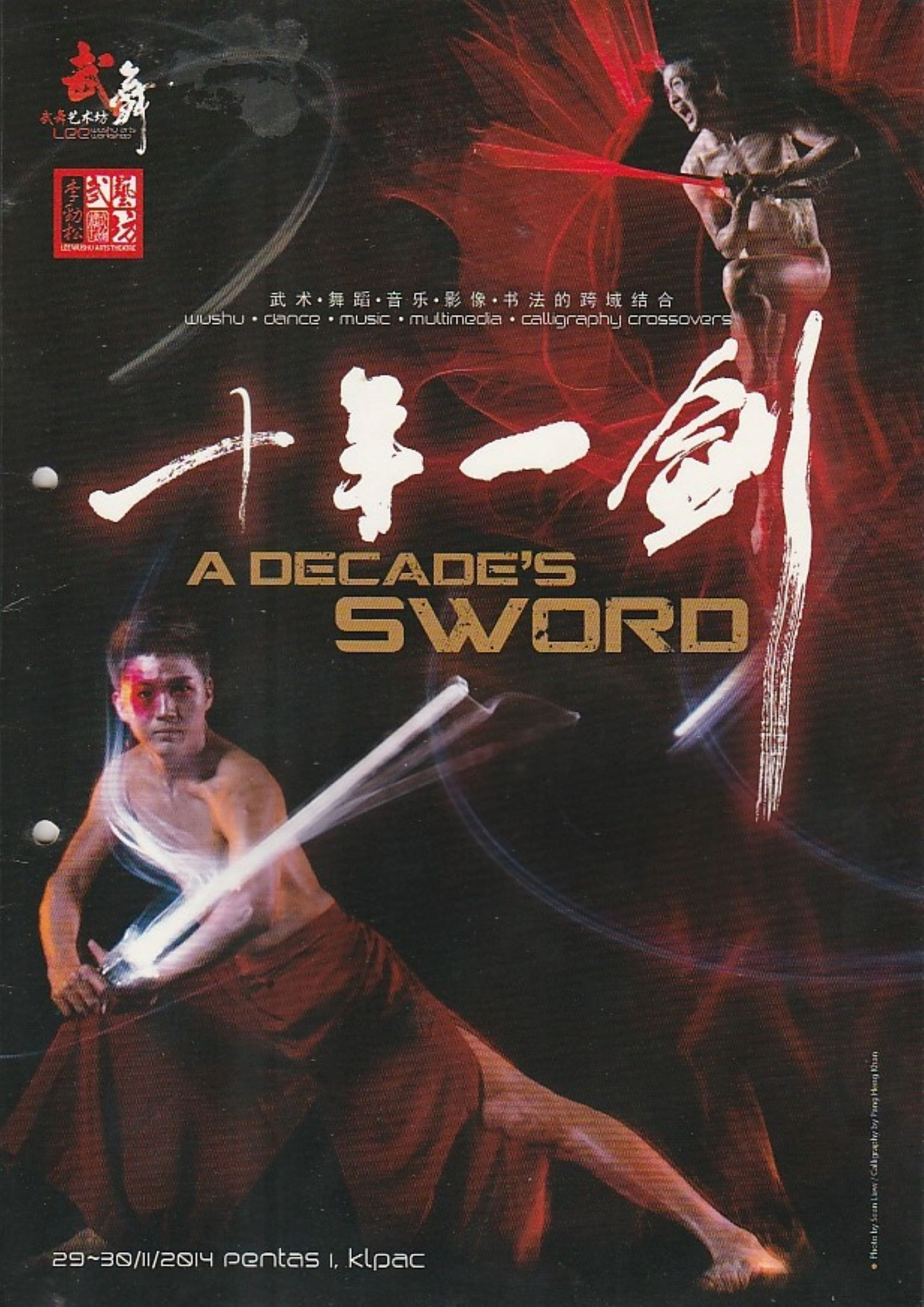 2014 A Decade's Sword Cover