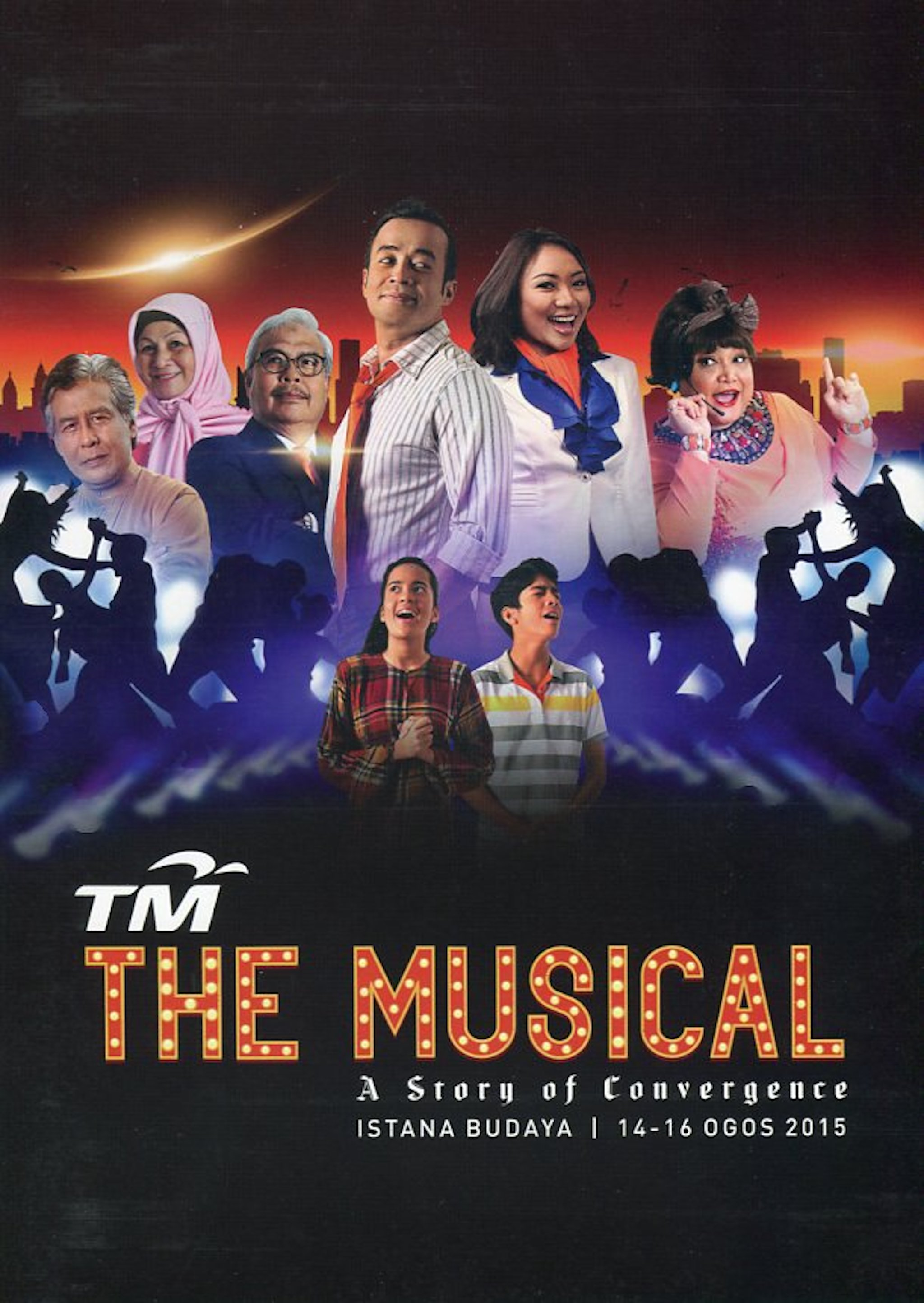 2015 TM The Musical A Story of Convergence cover