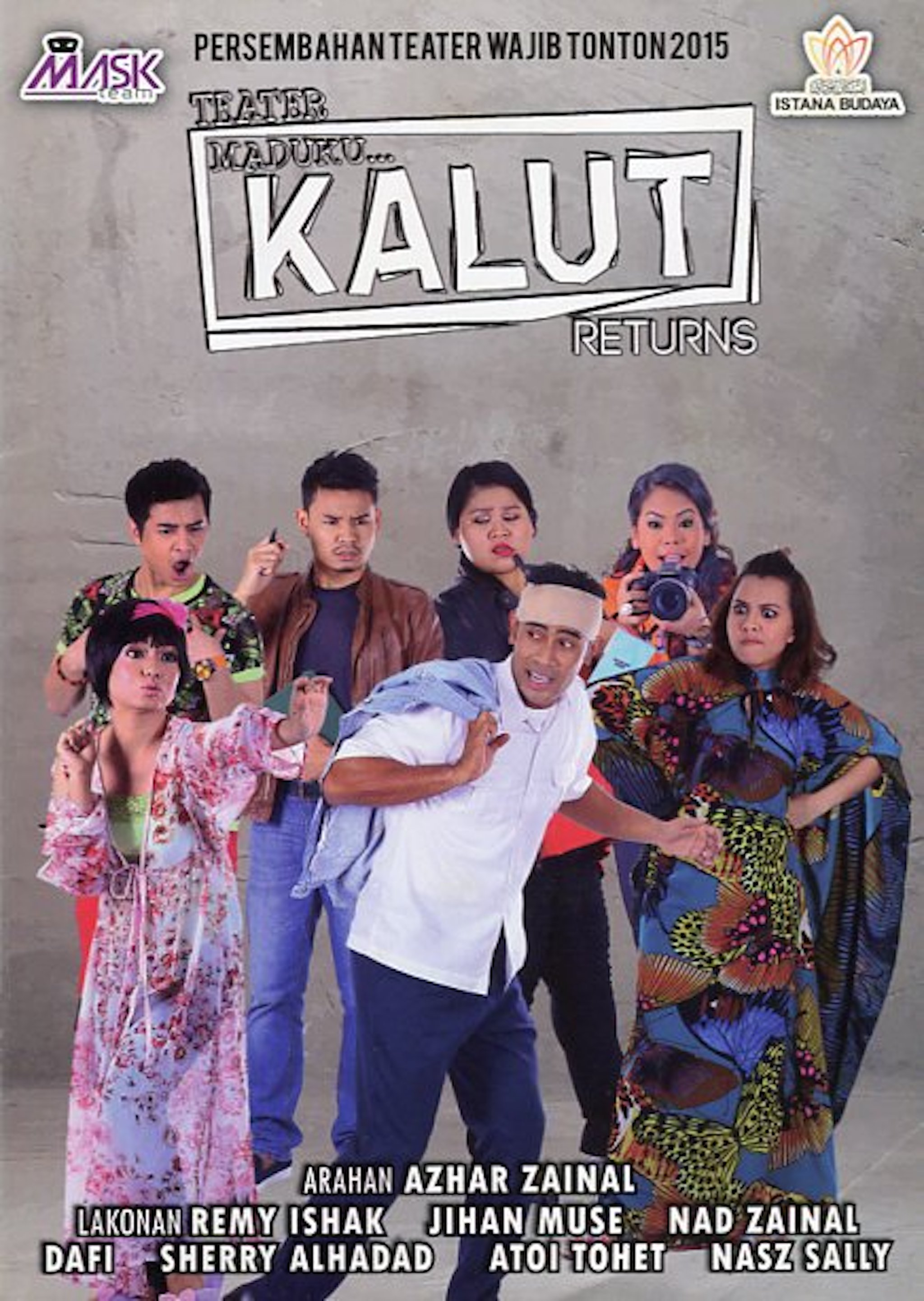 2015 Teater Maduku... Kalut Returns cover 1