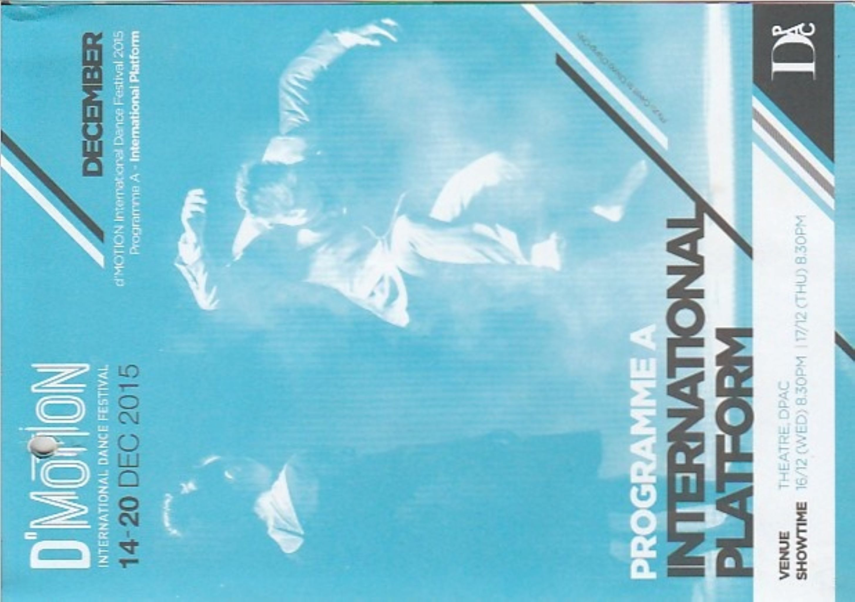 2015 DMotion Programme A International Platform Cover