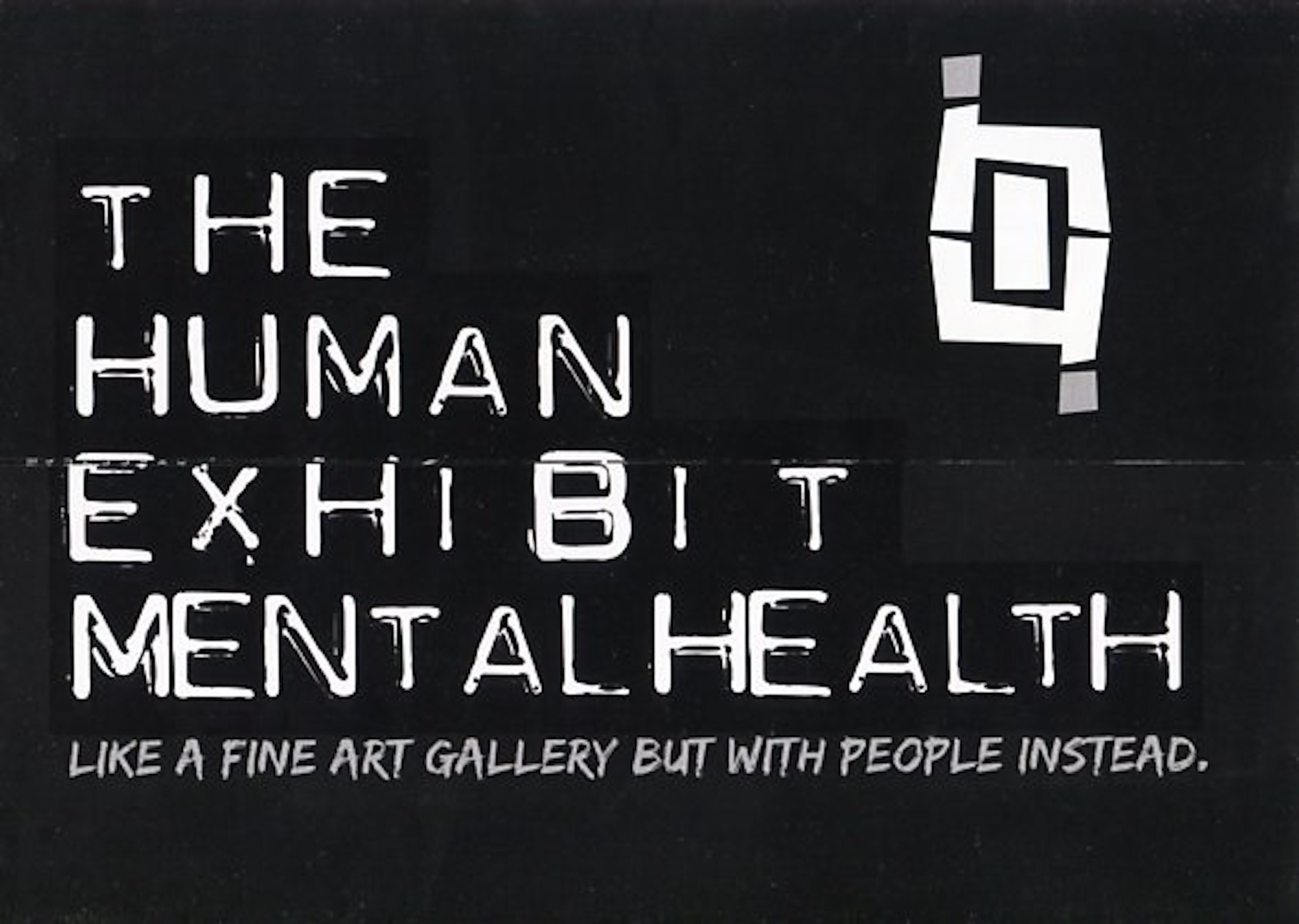 2018 The Human Exhibit Mentalhealth cover