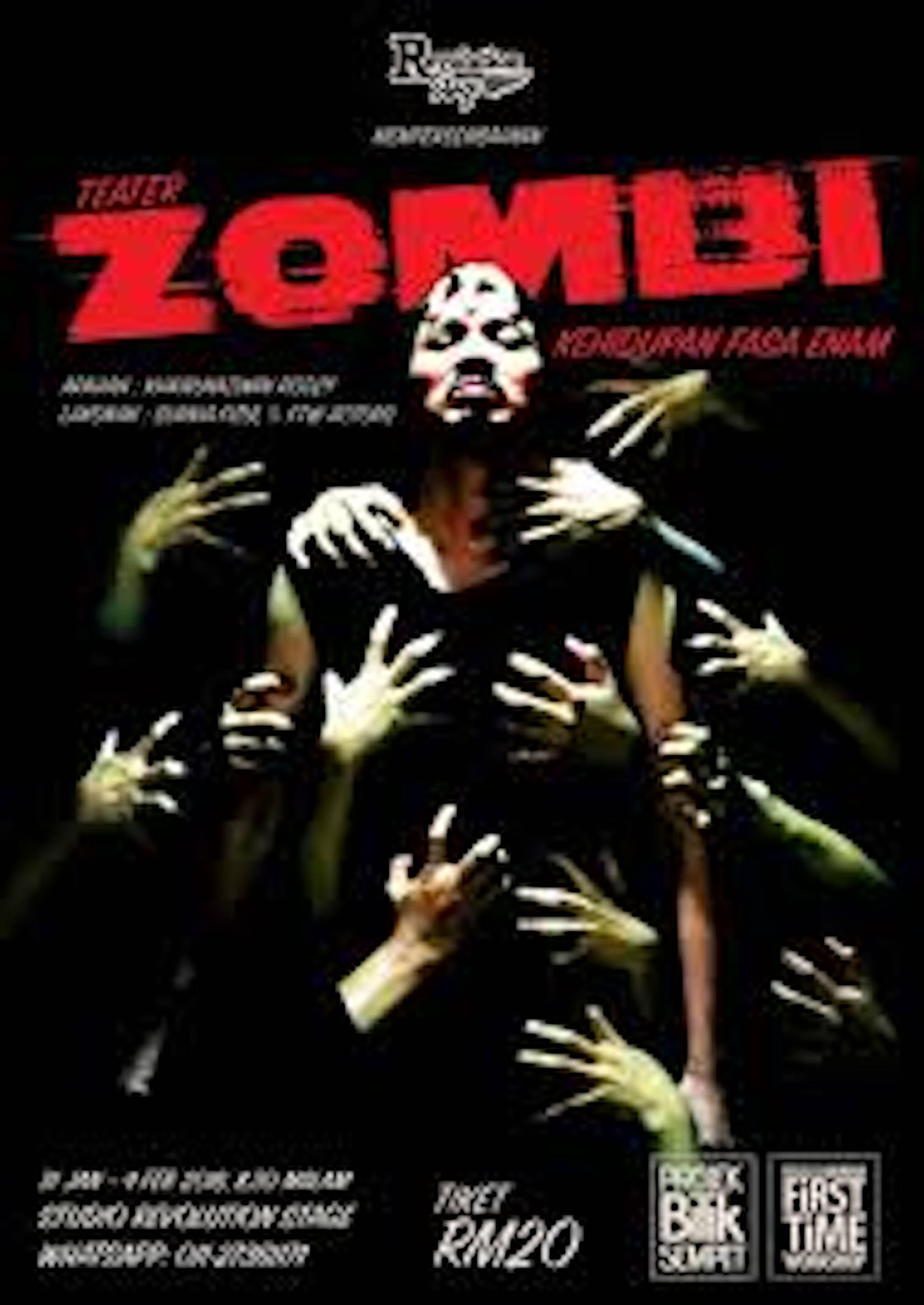 2018 Zombie Kehidupan Fasa Enam cover