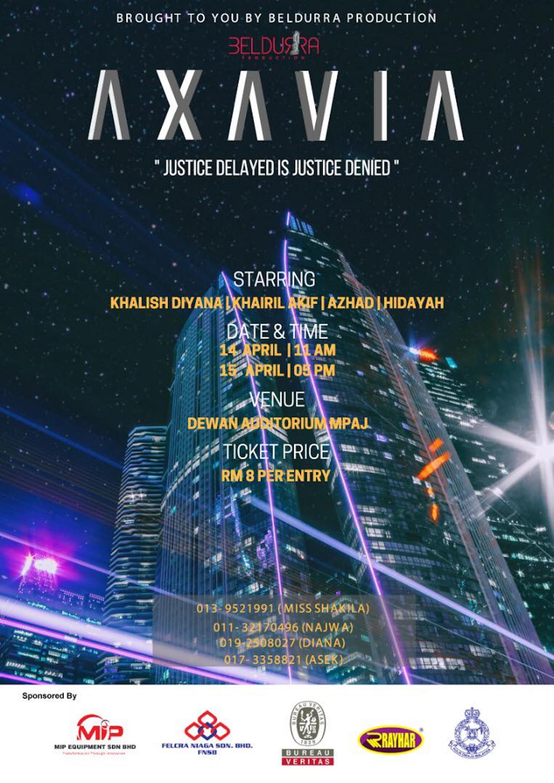 2018 Axavia cover