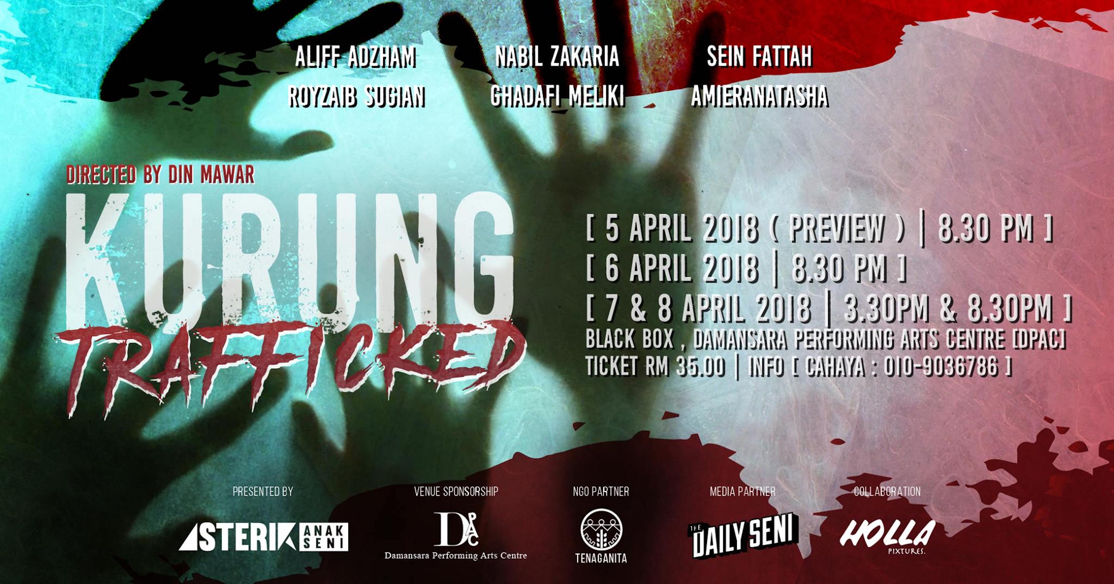 2018 Kurung Trafficked cover