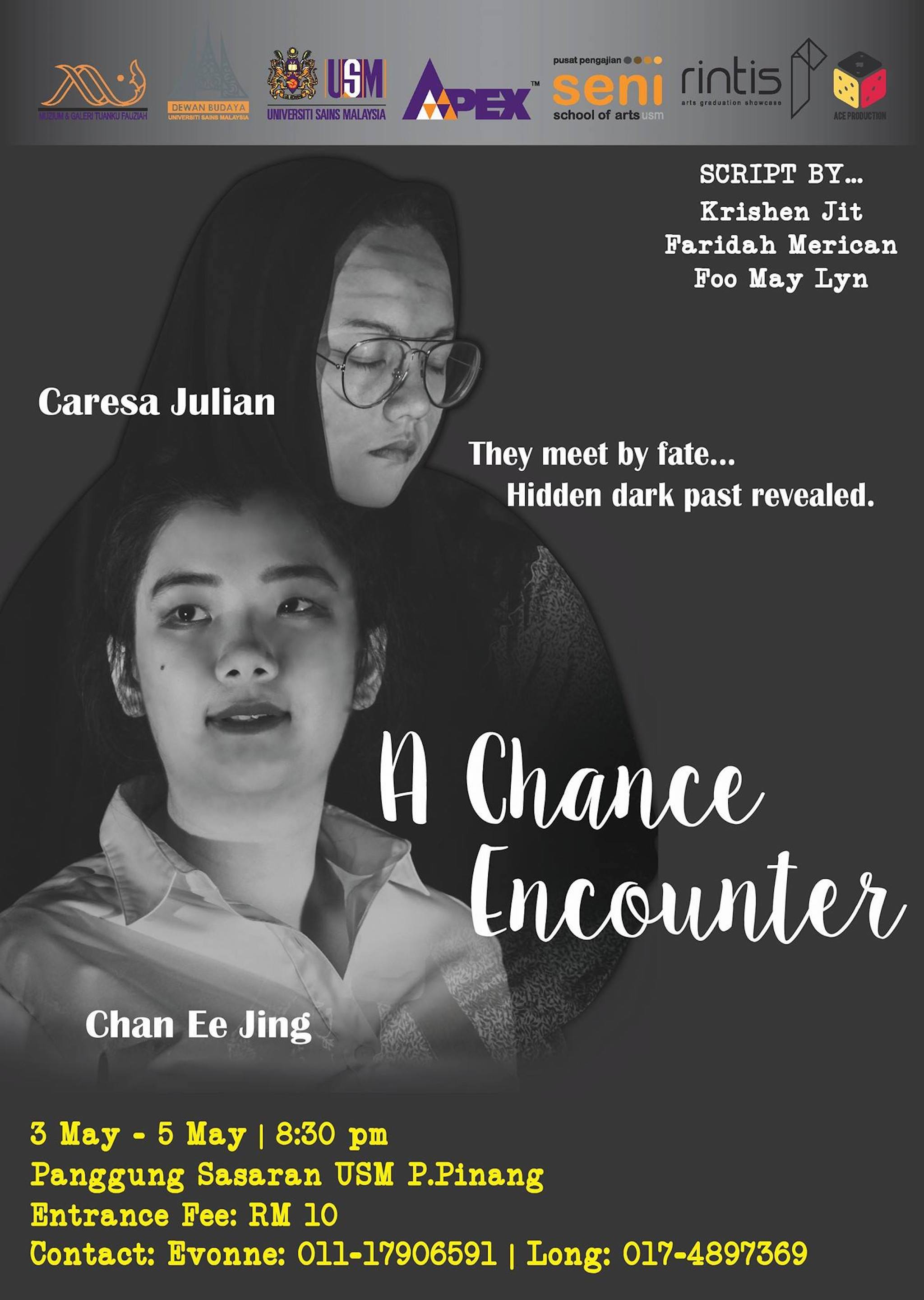 2018 A Chance Encounter cover