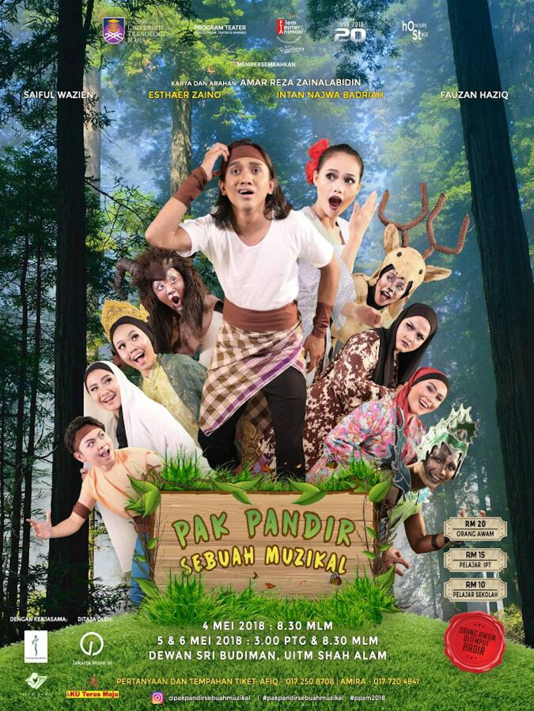 2018 Pak Pandir Sebuah Muzikal cover