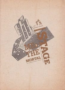1991, Stage | Me, the Mortal: Programme Cover