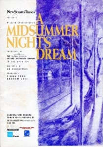 1991 A Midsummer Night's Dream cover