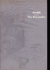 1996, The Storyteller: Programme Cover