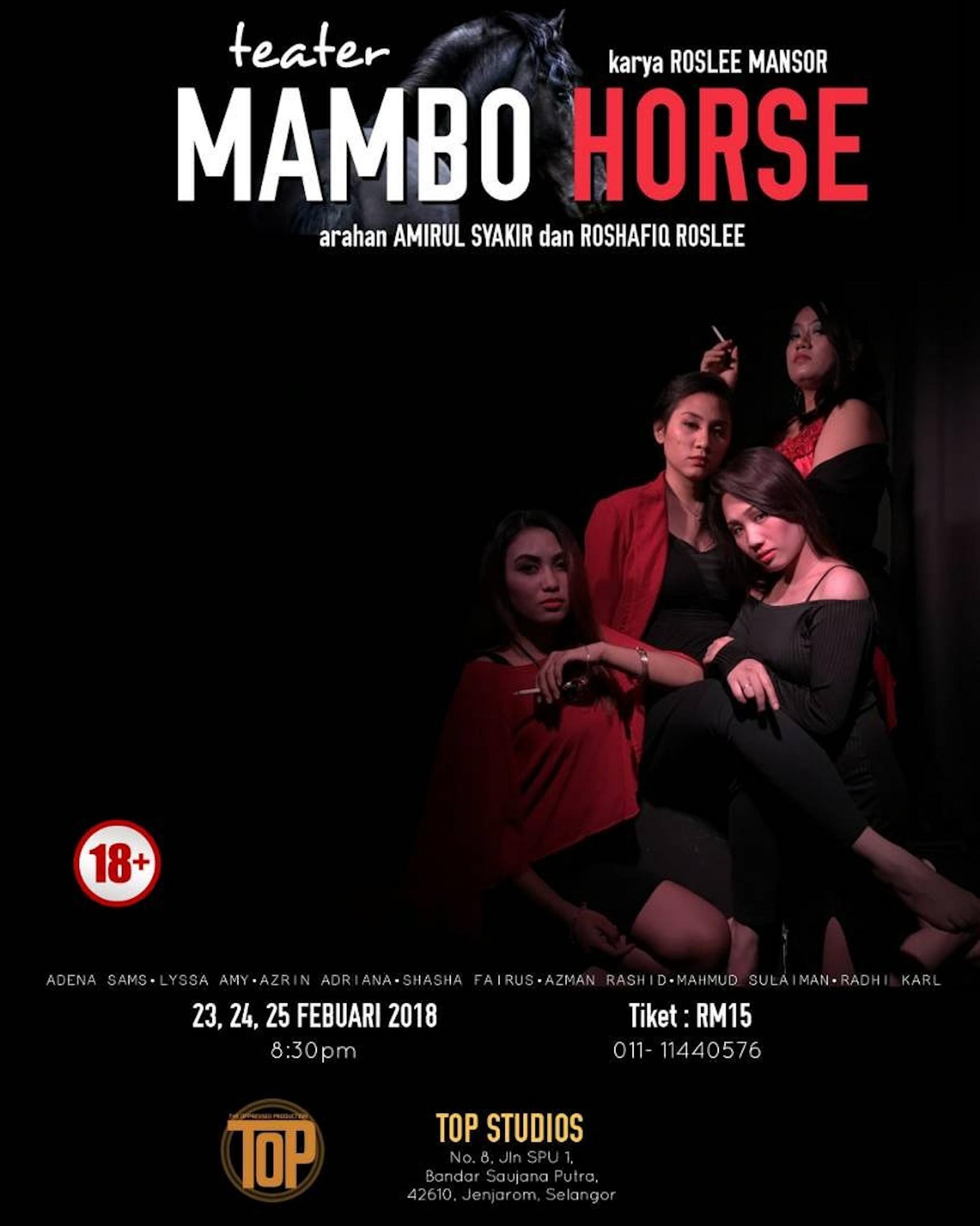 2018 Mambo Horse cover