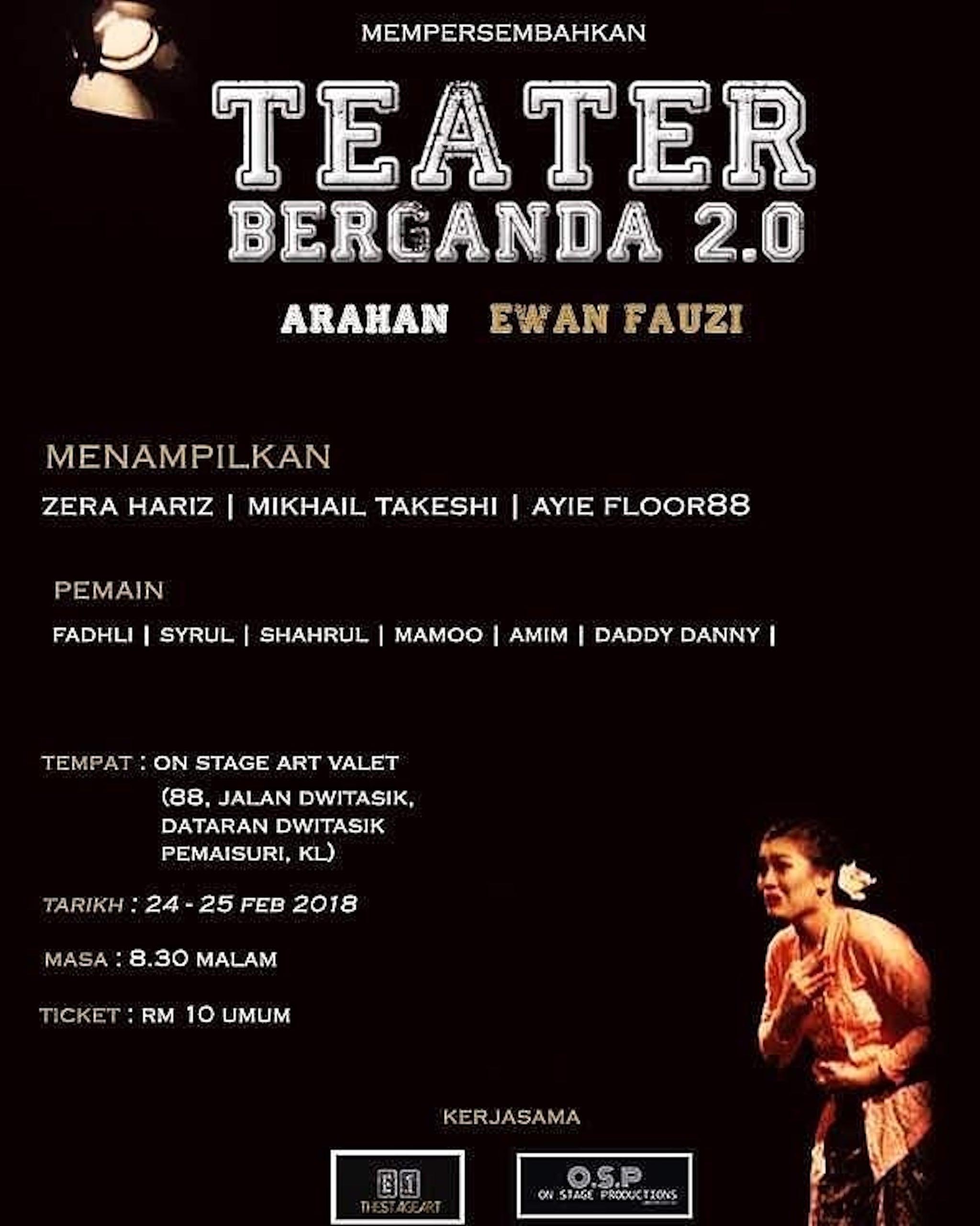2018 Teater Berganda 2.0 cover