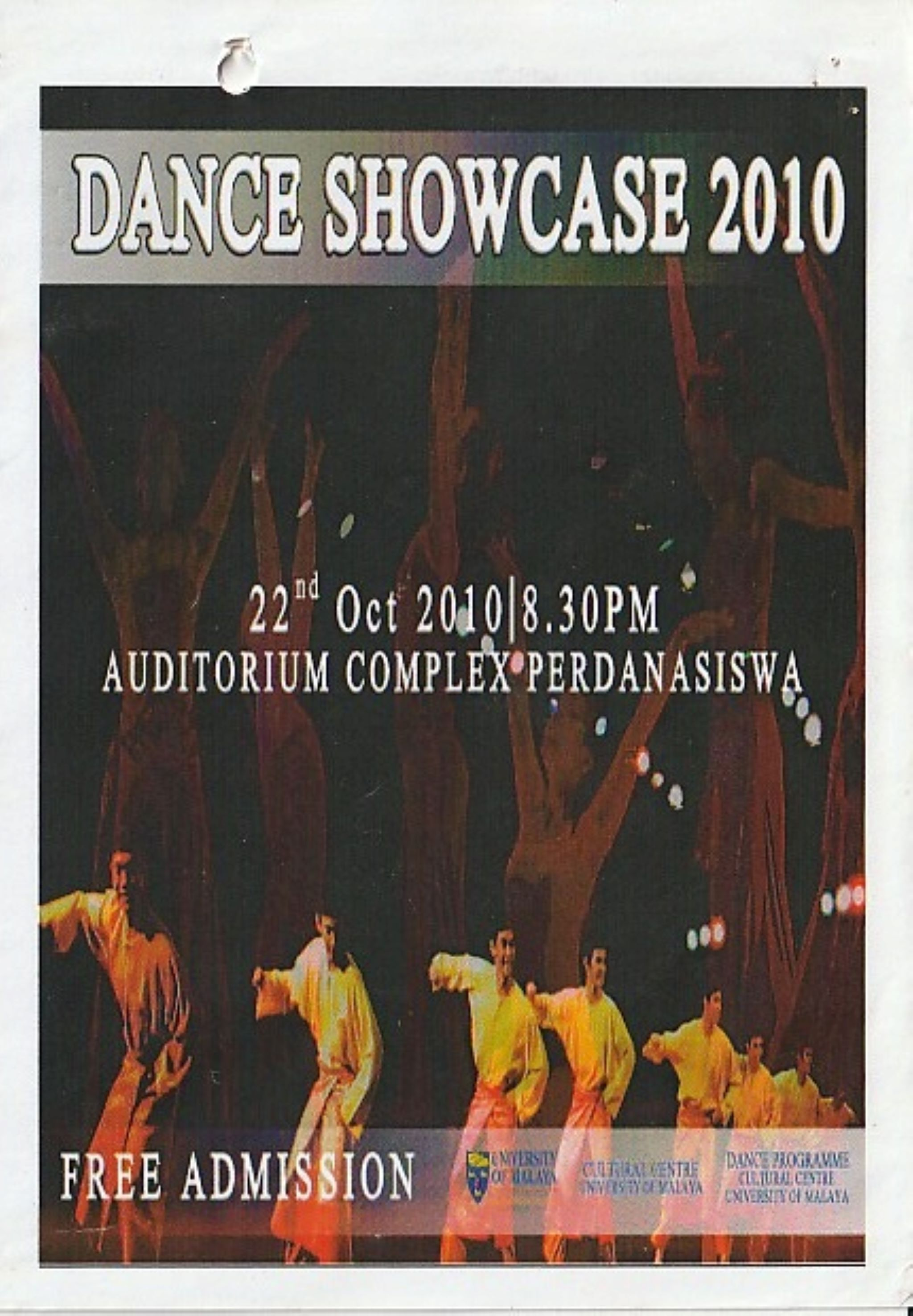 2010 Dance Showcase Cover