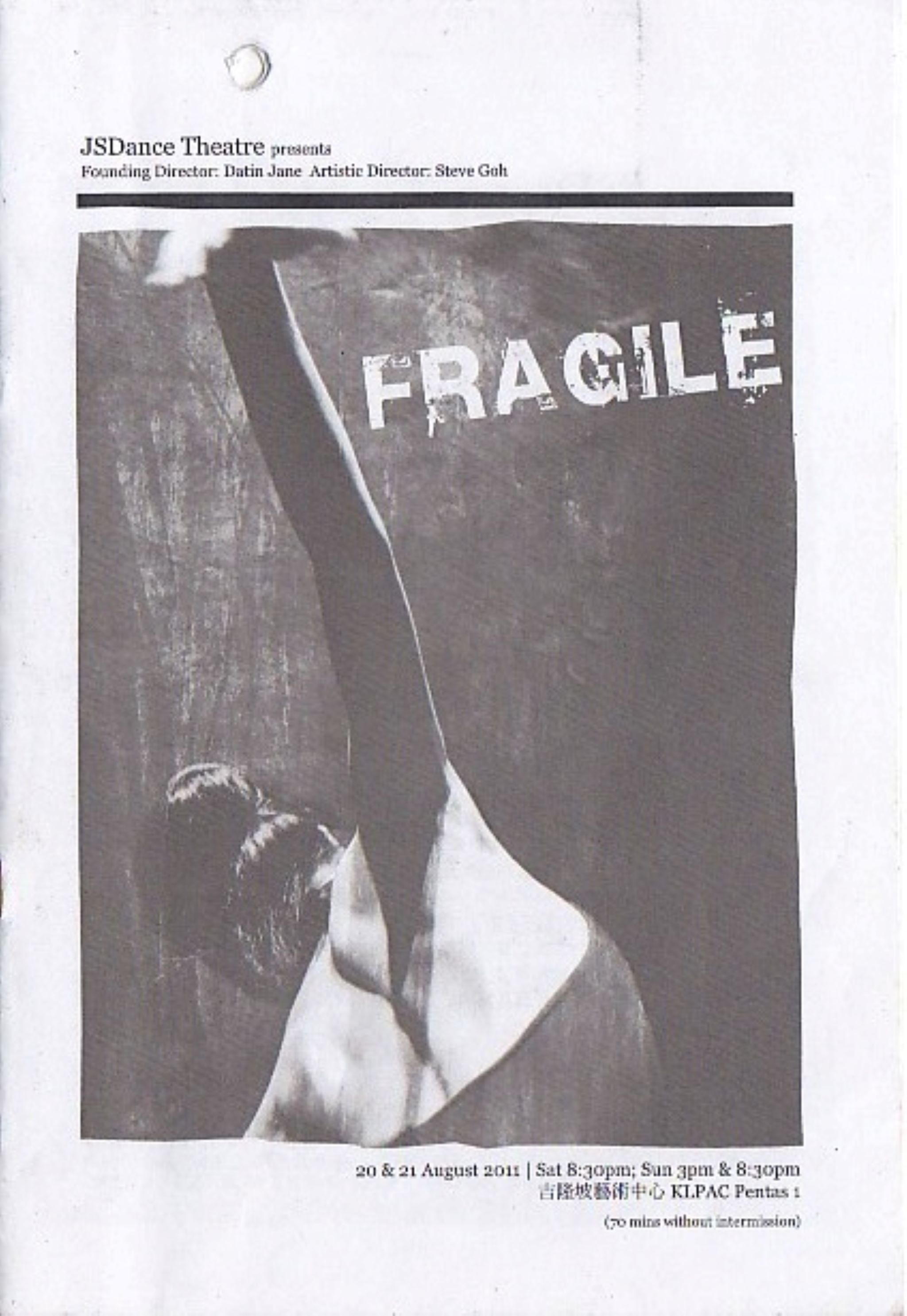 2011 Fragile Cover