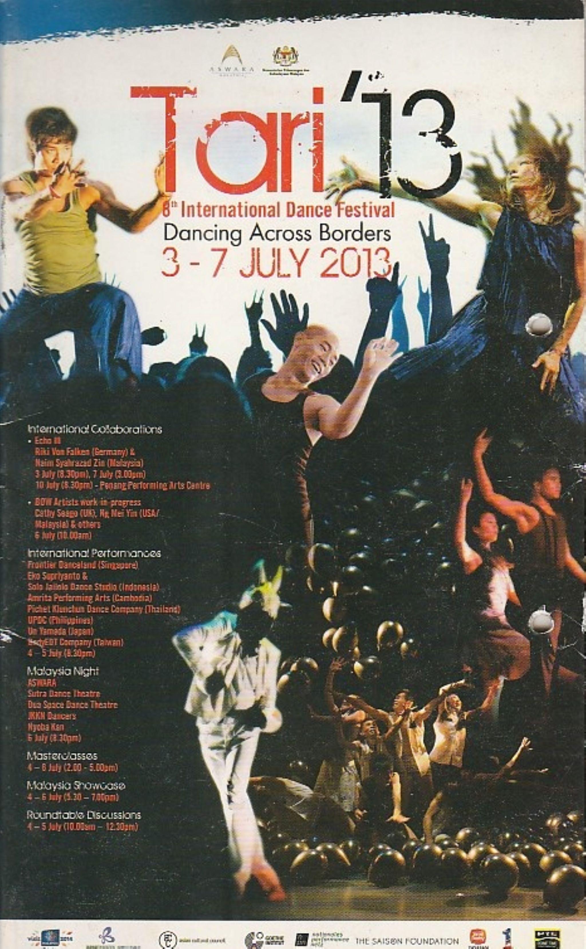 2013 Tari 13 Cover