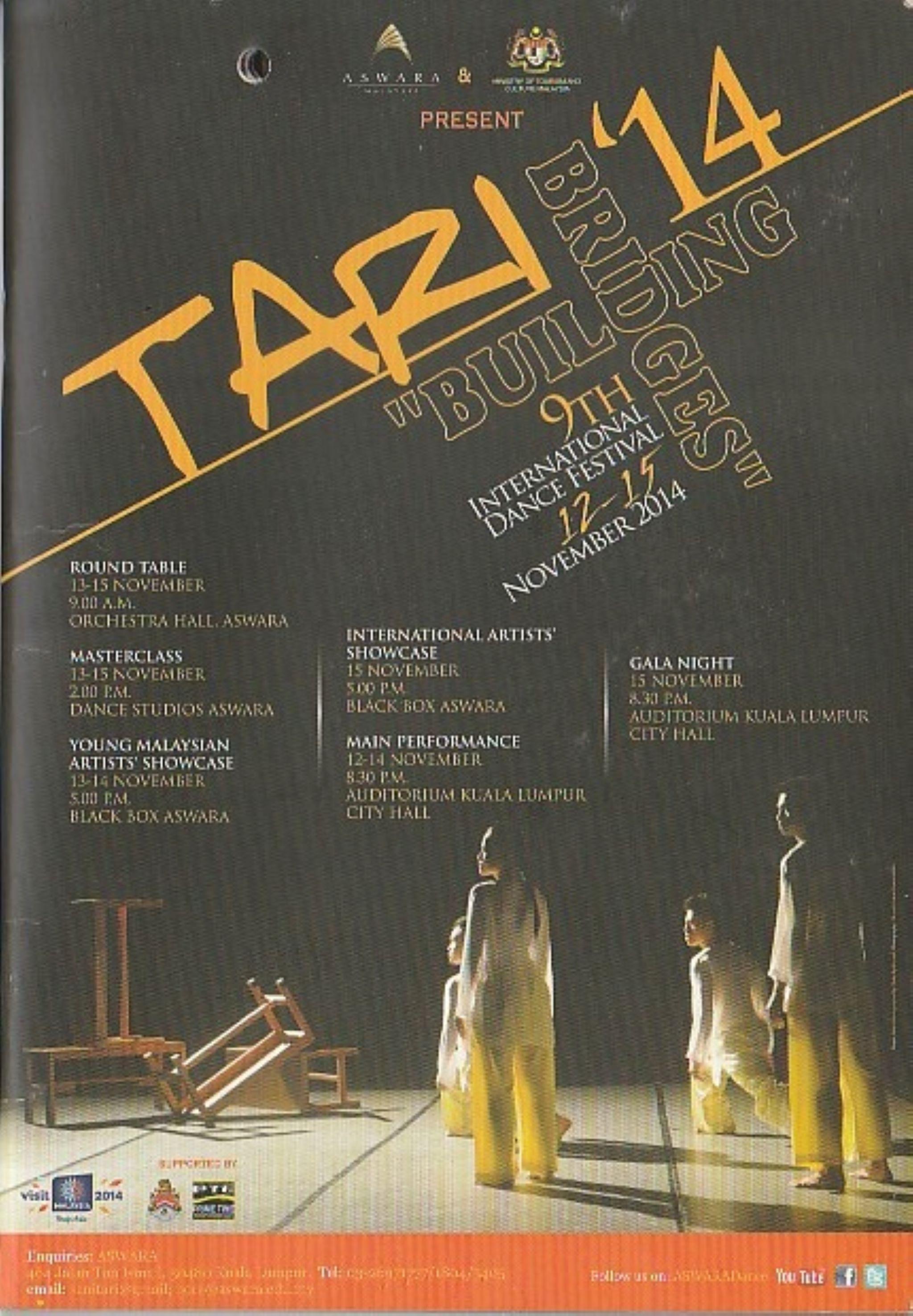 2014 Tari'14 Cover