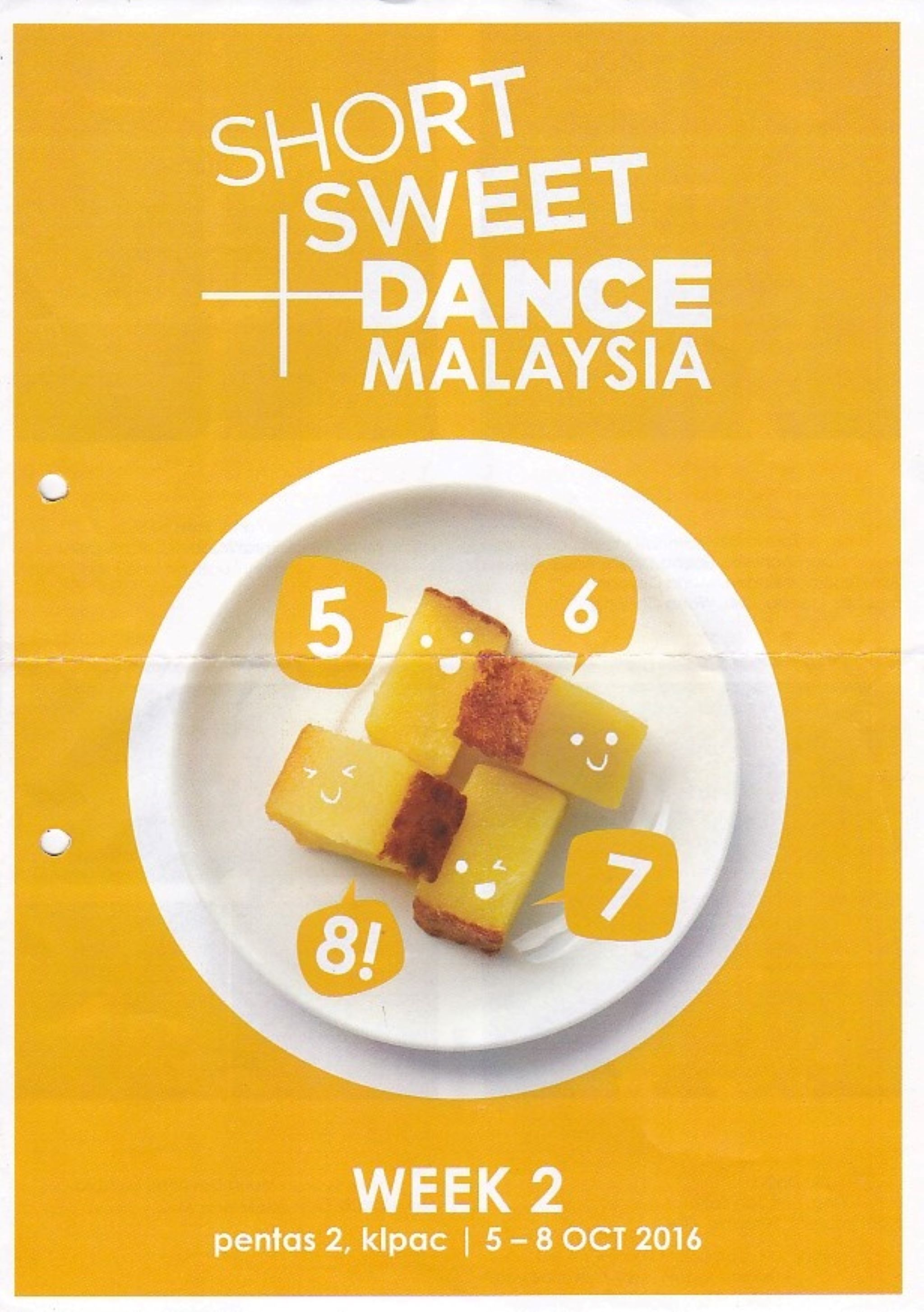 2016 Short+Sweet Malaysia: Dance: Week 2 Cover