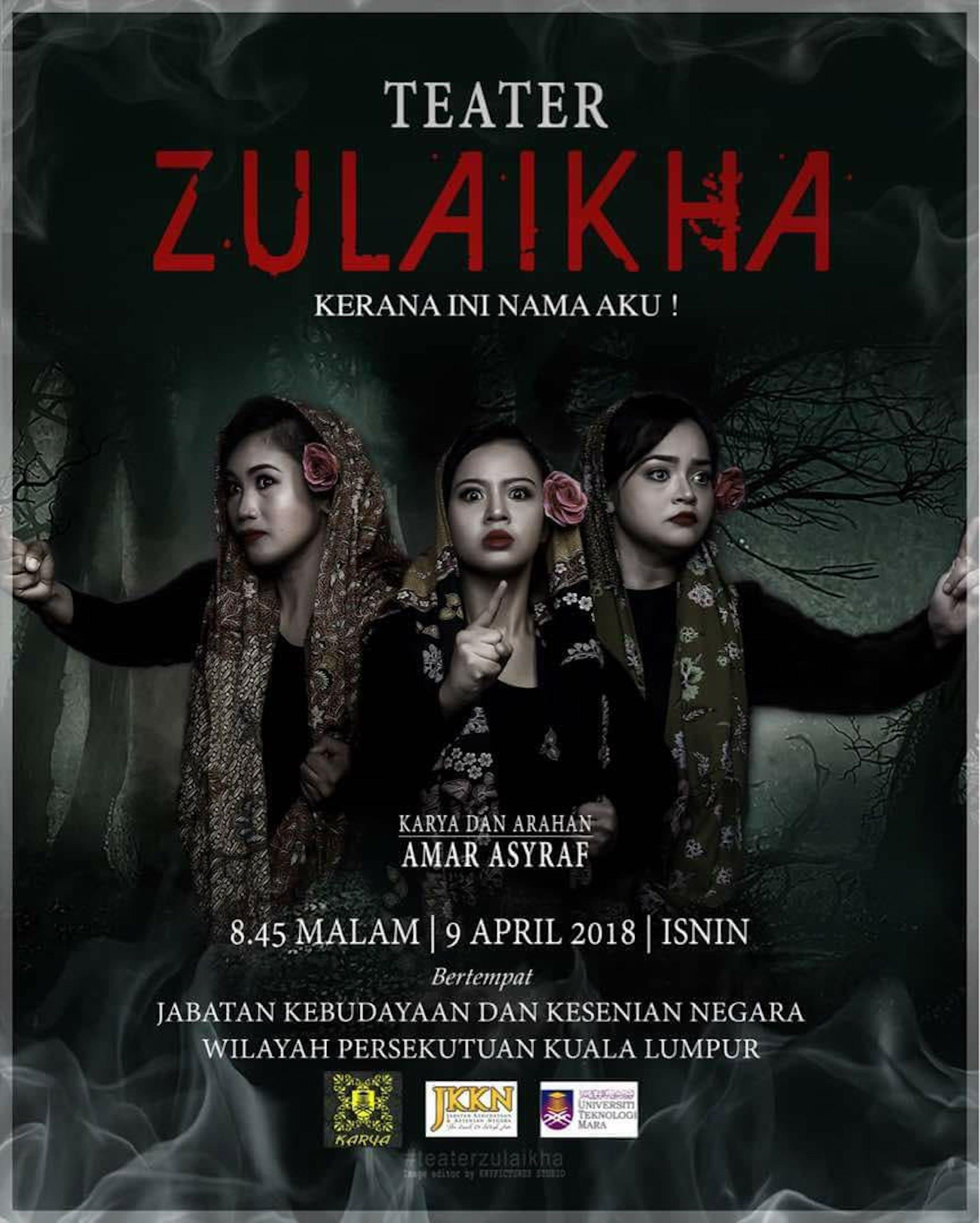 2018 Zulaikha cover